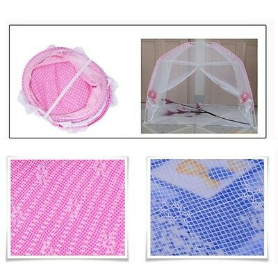 Baby Bed Mosquito Insect Cradle Net Netting Canopy Mattress Cushion Infant Safe