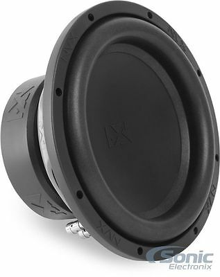 "NEW!! NVX 1000 Watt 10"" VS-SERIES V2 Dual 4 Ohm Car Audio Subwoofer 