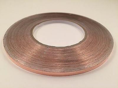 "1/4"" x 55 yards Copper Foil Tape- EMI Shielding- Conductive-165' 50M"