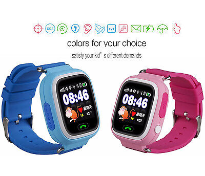 New Kids Safety Smart Watch GPS LBS Activity Tracker SOS Call for Android iPhone