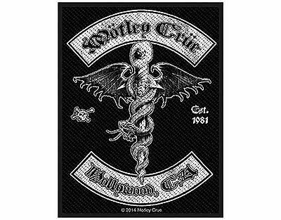 Motley Crue - Hollywood - Woven Patch - Brand New - Music Band 2754