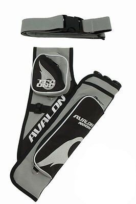 Avalon Archery Tec One 3 Tube Target Quiver With Belt Right Hand