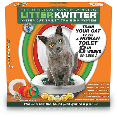 Litter Kwitter Cat Toilet Training System - World's No. 1 Kit