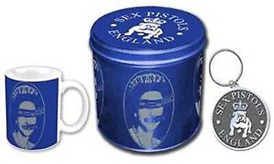 Sex Pistols Gift Set - Mug & Metal Keychain in Presentation Tin - Official Merch