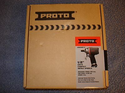 "Proto J150WP-C 1/2"" Drive Compact Impact Wrench Air Pneumatic Light Weight"