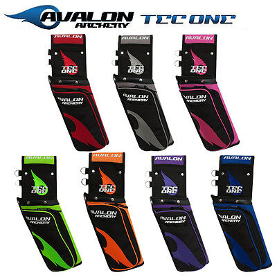 Avalon Archery Tec One 3 Compartment Field Quiver & Belt