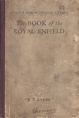 Pitmans BOOK of the ROYAL ENFIELD 1934-1938 Scarce Early Edition By RE Ryder