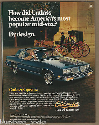 1983 OLDSMOBILE CUTLASS advertisement, Olds Cutlass Supreme, large size advert
