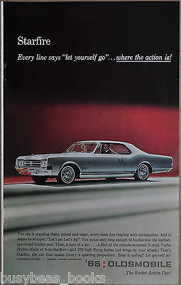 1965 OLDSMOBILE STAREFIRE advertisement, Olds Starfire