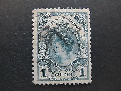 A4P49 Netherlands 1898-1905 1g type I used #112