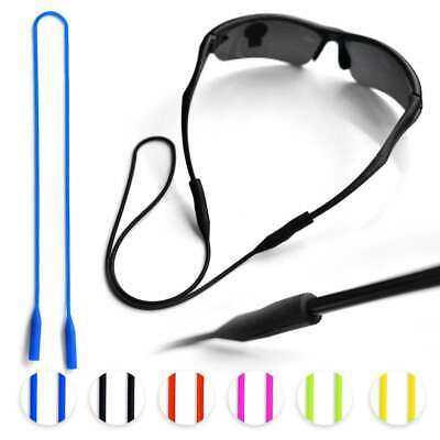 6pcs Silicone Glasses Sports  Strap Glasses Cord Neck Holder Lanyard 53cm