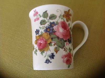 FLOWER FLORAL DESIGN Fine Bone China Mug cup Royal Sutherland