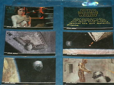 STAR WARS: 3DI  'A New Hope' Episode 4 3D Set Of 63 Trading Cards & Rare Motion
