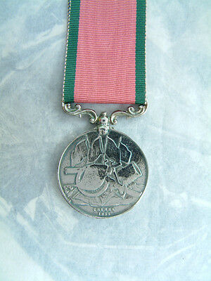British Army Military Turkish Crimea Medal 1855 Charge Of The Light Brigade Turk