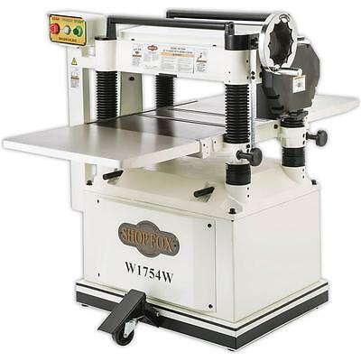 "W1754W—20"" Planer with Built in Mobile Base - Free Shipping"