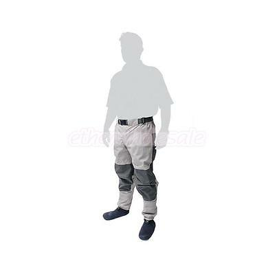 Waterproof Fishing Waders Overall PVC Rubber Boots Anti-microbial Trousers Pants