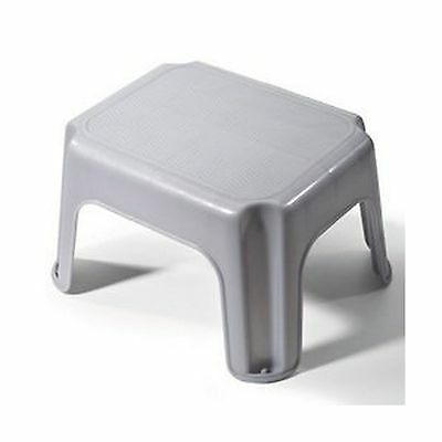 Rubbermaid Small Step Stool - 12.2x10x7.1 in31.1x 25.4x18.1 cmgray Gray 1