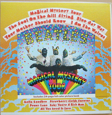 "The Beatles Magical Mystery Tour 1967 1st pressing stereo Capitol 12"" vinyl LP"