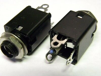 1/4 inch Phono Jack--3 conductor-250 pieces