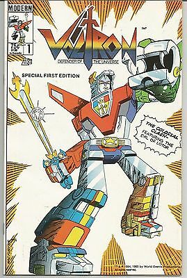 Voltron #1 (1985, Modern) First Appearance of Voltron in Comics! First Issue!