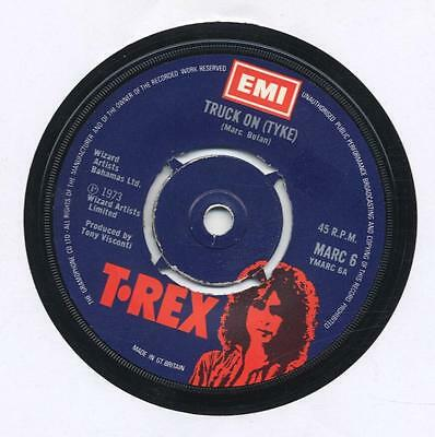 "T.rex (Marc Bolan) - Truck On (Tyke) - 7"" Vinyl Single"