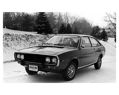 1972 Renault 15 Coupe Factory Photo ub1768