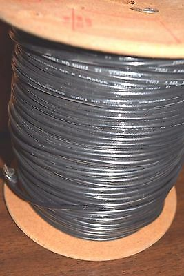 NEW 500' Columbia Wire 12 AWG Solid Copper 600V THHN/THWN Black or Red Oil Resis