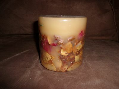 Longaberger Sweetheart Rose Inclusion Candle - New