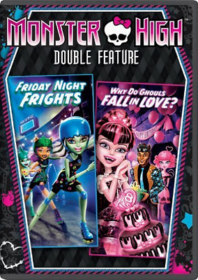 MONSTER HIGH-Monster High: Friday Night Frights/Why Do Ghouls Fall In Lo DVD NEW
