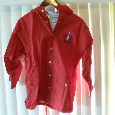 Nickel Store: Kids Cool Hooded Zippered Sweater Size M, Brand New, Red