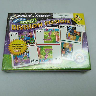 FACTS 0-9 THE NICKEL STORE: DIVISION FLASHCARDS B15 BRAND NEW
