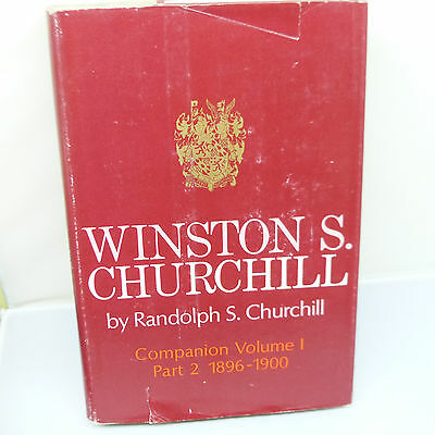 The Nickel Store: Winston S. Churchill. Youth 1874-1900 (Published 1967)  (B21)