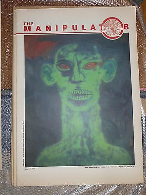 WORLD WIDE From JAPAN 1987's The Manipulator large size Photo magazines Issue #9