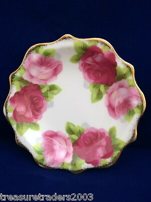 🌟 ROYAL ALBERT OLD ENGLISH ROSE TRINKET PIN DISH BOWL more Royal Albert instore