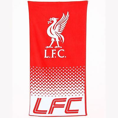 Liverpool Fc Fade Large Beach & Bath Towel New & Official Football