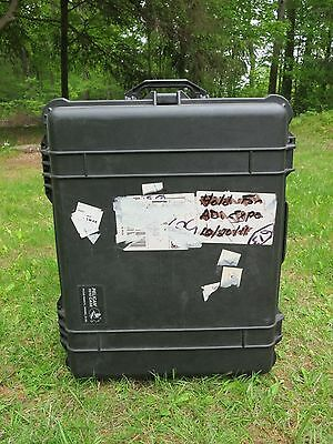 PELICAN 1610 Rolling Transport Black CASE - INCLUDES CUSTOMIZED FOAM #2 of 2