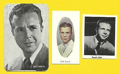 Dick Powell Fab Card Collection Four Star TV Blessed Event Flirtation Waltz