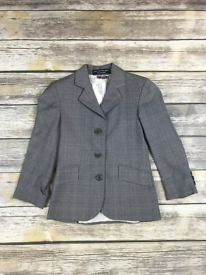 RJ Classics Diamond Collection in Grey Plaid - Child's 6