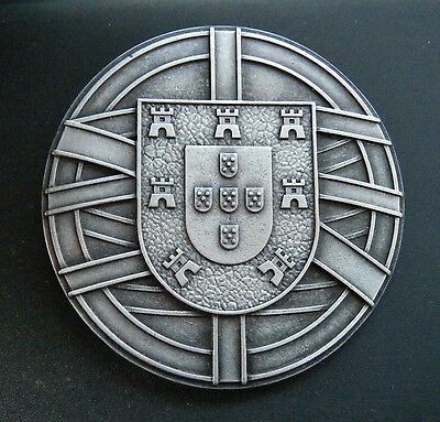 Portuguese Flag Belt Buckle Portugal Coat of Arms Escudo Quinas Boucle Ceinture