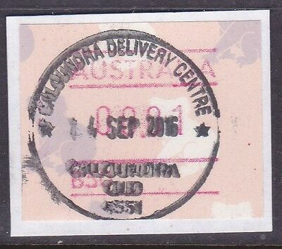 *queensland Rubber Postmarks.caloundra Delivery Centre.2016.*