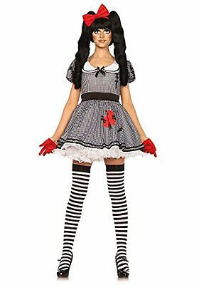 (TG. Donna: 44) bianco Leg Avenue 85379 - Vento-Me-Up Dolly signore in costume,