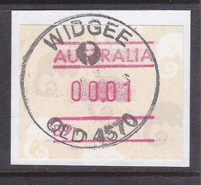*QUEENSLAND RUBBER POSTMARKS.WIDGEE.No date line.*