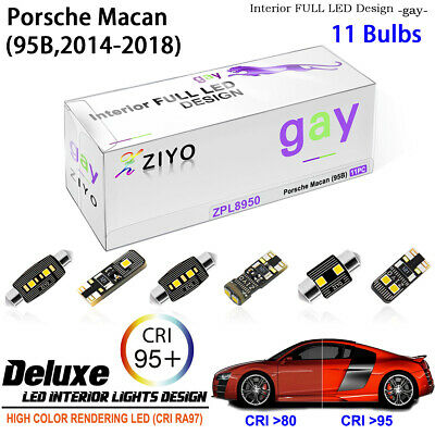 1pc White LED Door Glove box Trunk Footwell Light For AUDI A4/S4 B5 B6 B7 B8 RS4