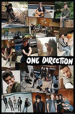 One Direction Collage POSTER 61x91cm NEW Niall Harry Zayn Louis Liam 1D Boy Band