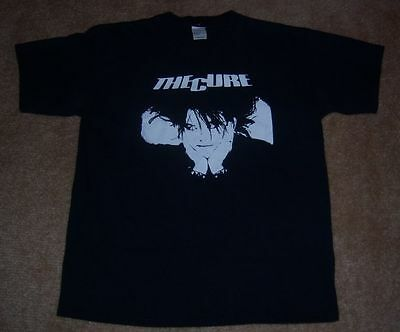 Extremely RARE Vintage THE CURE Shirt L/Large Concert/Tour Robert Smith