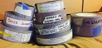 35mm Sound Film Reel Trailer Lot Collection Documentary Hollywood Movies Music