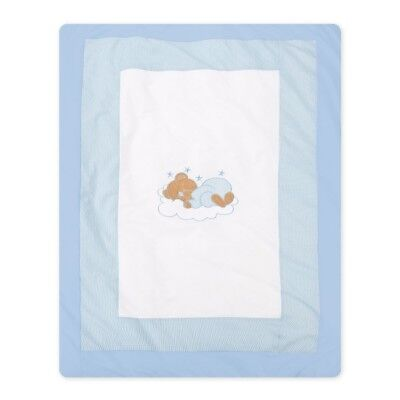 Design: Sleeping Bear Krabbel- Spieldecke Sleeping Bear in blau Neu