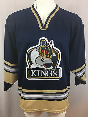 Victoria Salmon Kings SP Jersey Size M Made In Canada ECHL