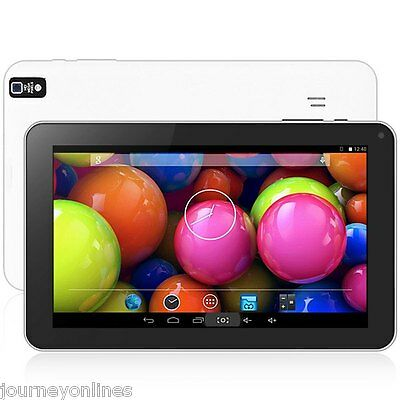 """9"""" Android 4.4 Tablet PC Quad Core 1.3GHz Dual Cameras WiFi 8GB ROM Negro"""