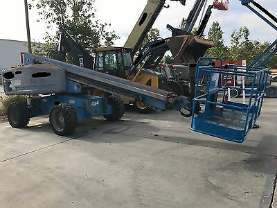 2008 Genie S-60 Aerial Boom Lift  - 3965 Hours - Professionally Maintained